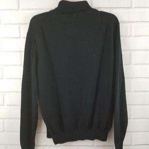 Paul Frederick Sweaters - Paul Frederick Silk Blend Turtleneck Sweater